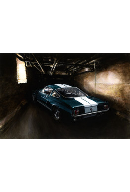 Rare Giclee: 1965 Shelby GT350