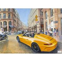 Canvas: Boulevard Malesherbes