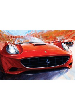 Canvas: Ferrari Club of America 50th