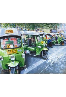 Color Proof:  7 Tuks in Bangkok