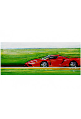 Giclee: Color of Speed 10
