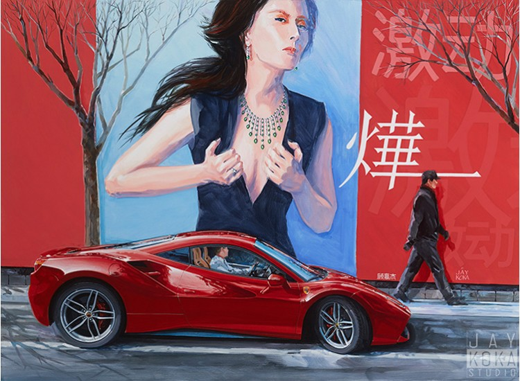 Color Proof: Breathless in Shanghai