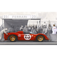 Canvas:  Ferrari Club of Amerca  (2017)