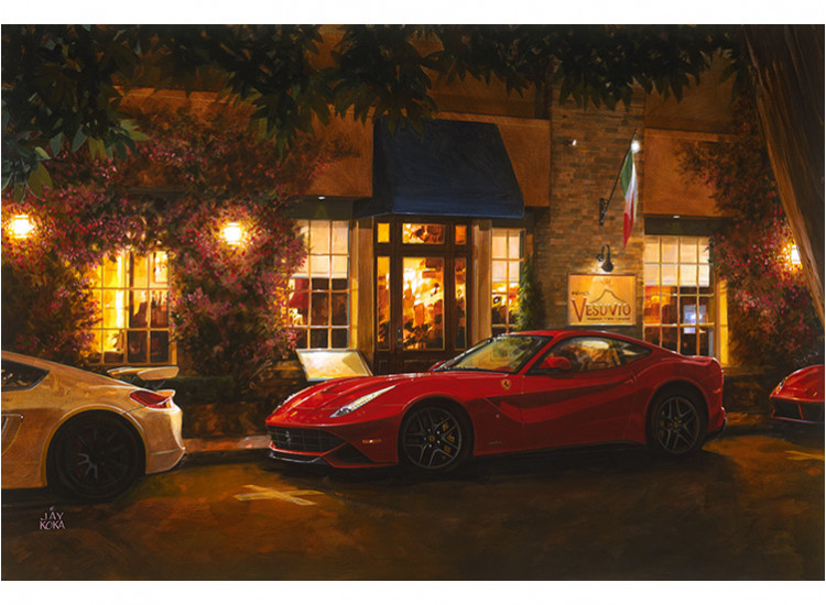 Color Proof: F12 at Vesuvio