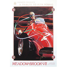 POSTER:    Meadow Brook Races 1991