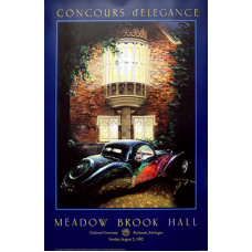 POSTER:    Meadow Brook Concours 1992