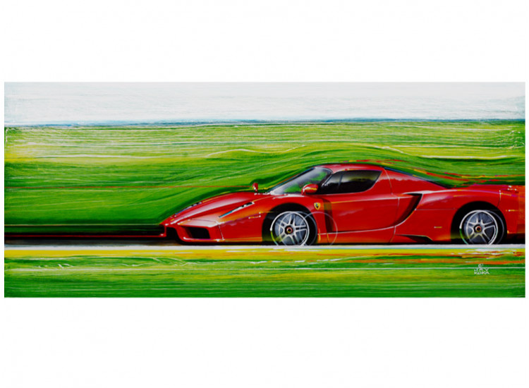Litho:  Color of Speed 10