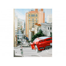 Giclee:  Steets of San Francisco No1