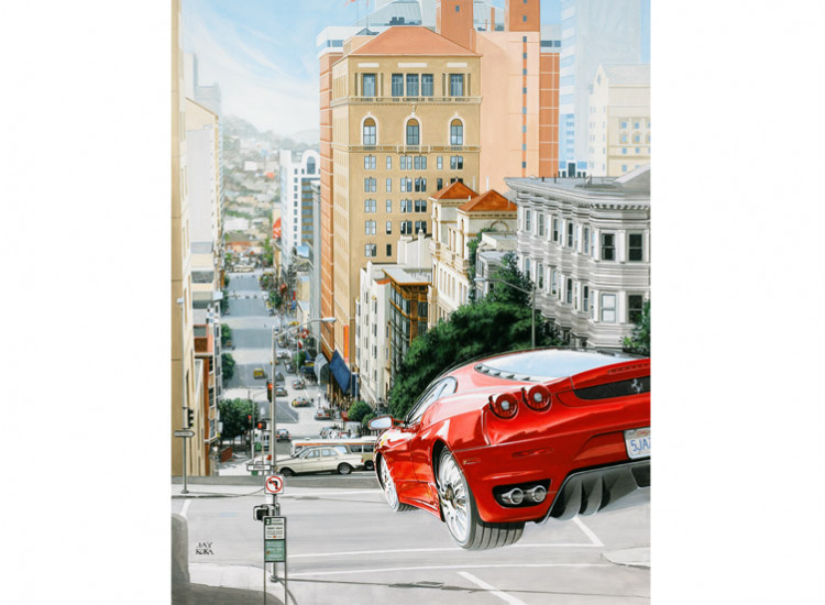 Giclee:  Steets of San Francisco 1